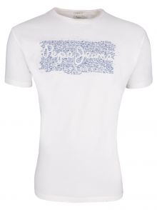 T-Shirt Pepe Jeans Cluster White