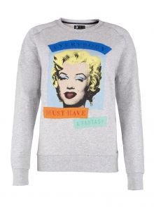 Bluza Andy Warhol by Pepe Jeans Path Grey