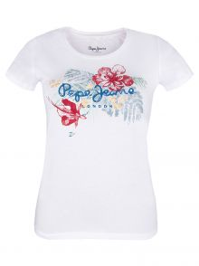 T-Shirt Pepe Jeans Amber White