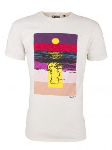 T-Shirt Andy Warhol by Pepe Jeans Sunset