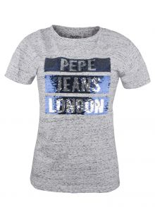 T-Shirt Pepe Jeans Moma Grey