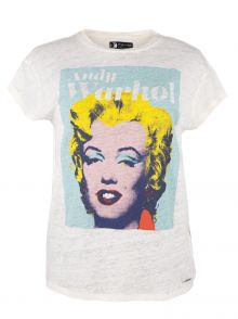 T-Shirt Andy Warhol by Pepe Jeans Sunny
