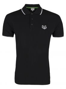 Koszulka Polo Kenzo Mini Tiger Black