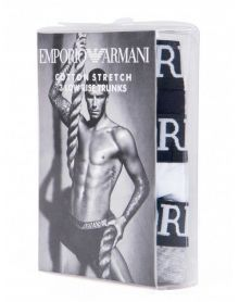 Emporio Armani Underwear Cotton Stretch 3 Pack
