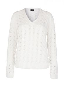 Sweter Pepe Jeans Fiona White
