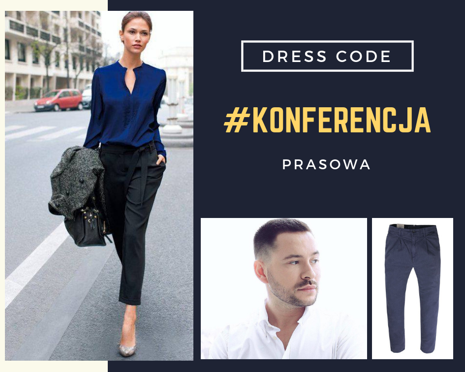 Dress code na konferencję prasową