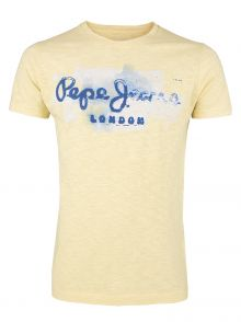 T-Shirt Pepe Jeans Golders Yellow