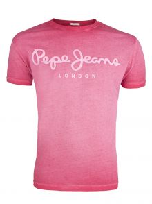 T-Shirt Pepe Jeans West Sir Red