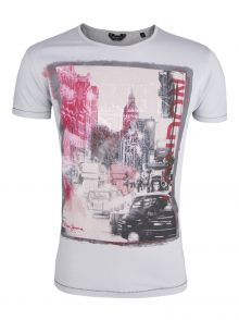 T-Shirt Pepe Jeans Madox Grey