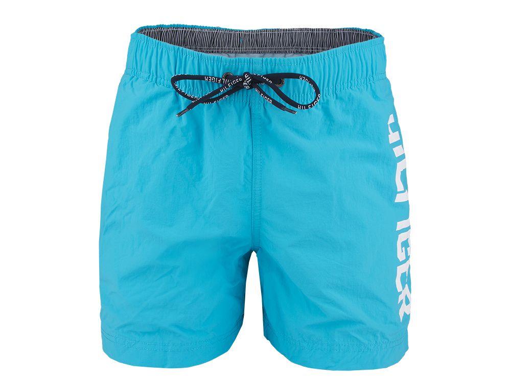 762ebd96e95f3 Kąpielówki Tommy Hilfiger Logo Trunk Turquoise - sklep Visciola Fashion
