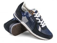 Sneakersy Pepe Jeans Tinker Denim