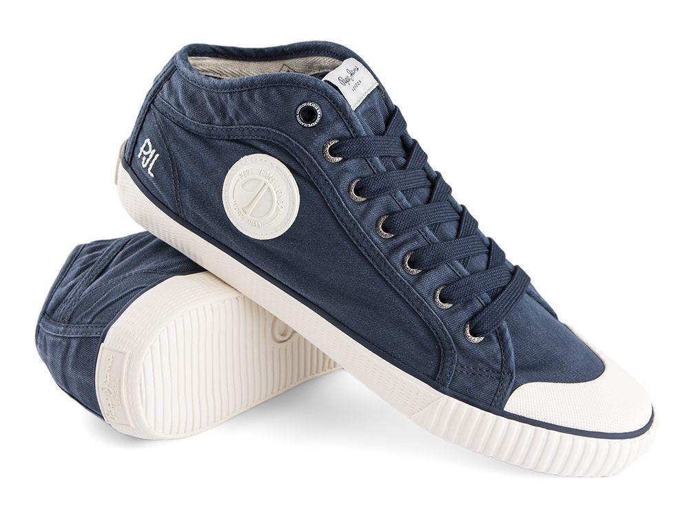 Trampki Pepe Jeans Industry Studio Blue sklep Visciola Fashion