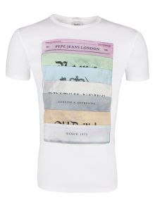 T-Shirt Pepe Jeans Parkway White