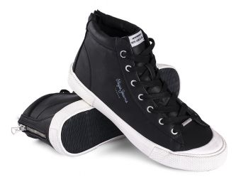 Trampki Pepe Jeans New Brother Black
