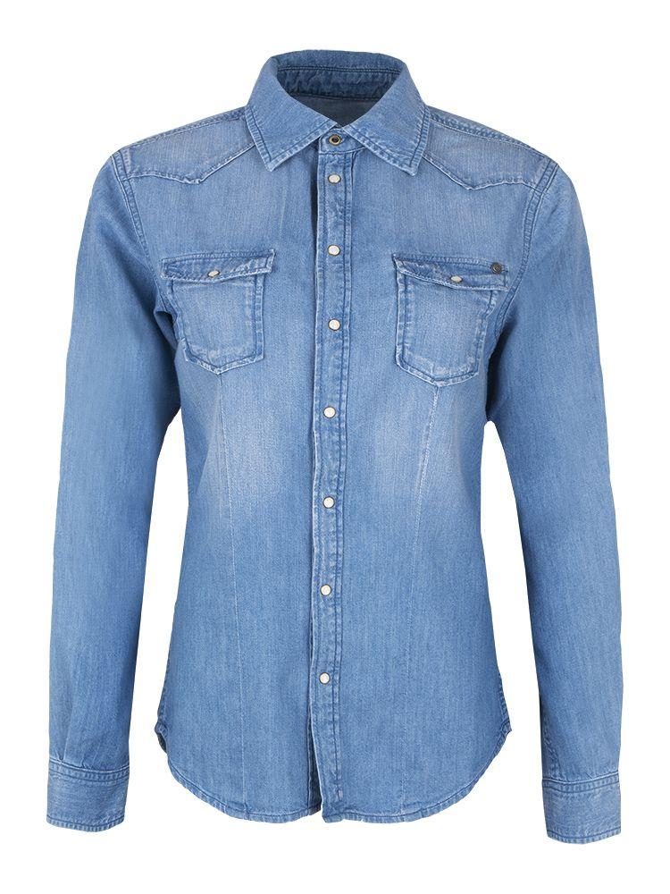 1ea3ca639 Koszula Pepe Jeans Rosie Blue - sklep Visciola Fashion