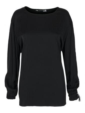 Bluzka czarna damska Love Moschino