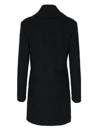 Płaszcz damski czarny Love Moschino