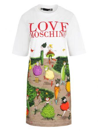 Sukienka Love Moschino styl