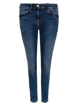 Basicowe jeansy damskie Pennyblack