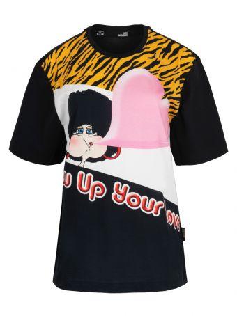 Bajkowy nadruk na koszulce Love Moschino