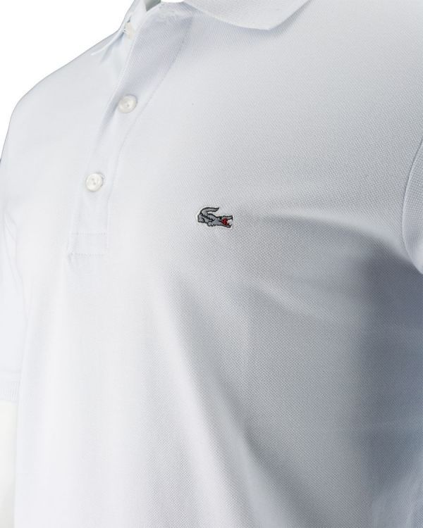 6ea5cf6f1 Koszulka Polo Lacoste White Slim Fit - sklep Visciola Fashion