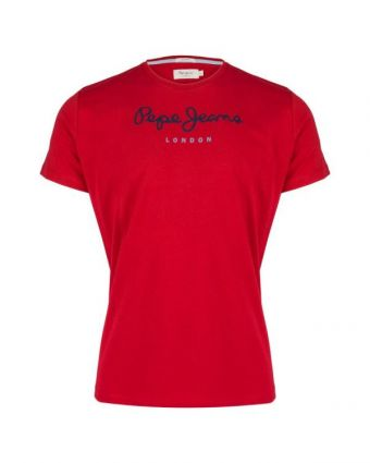 T-Shirt Pepe Jeans Eggo Red