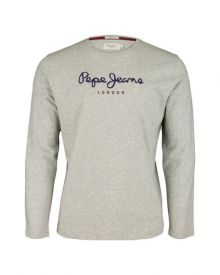 T-Shirt Pepe Jeans Eggo Long Grey