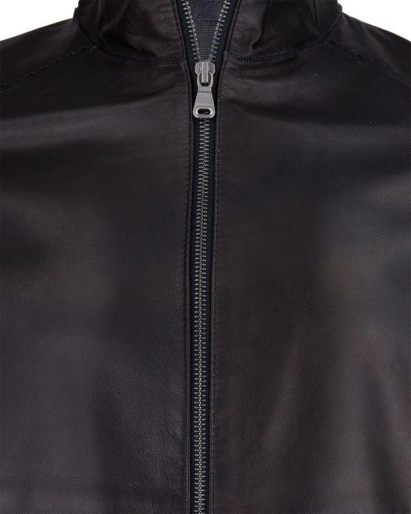 df680c8b4ef0e Kurtka skórzana Hugo Boss Jamino Black - sklep Visciola Fashion